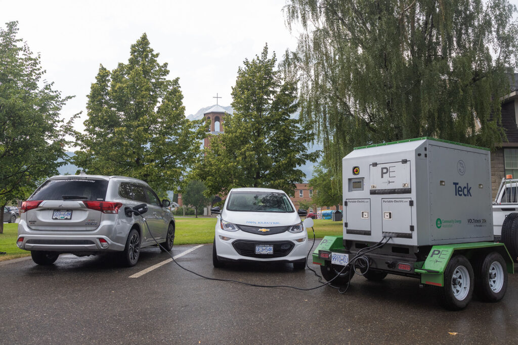 Canada's Largest Mobile EV Charger Launches in the East Kootenays