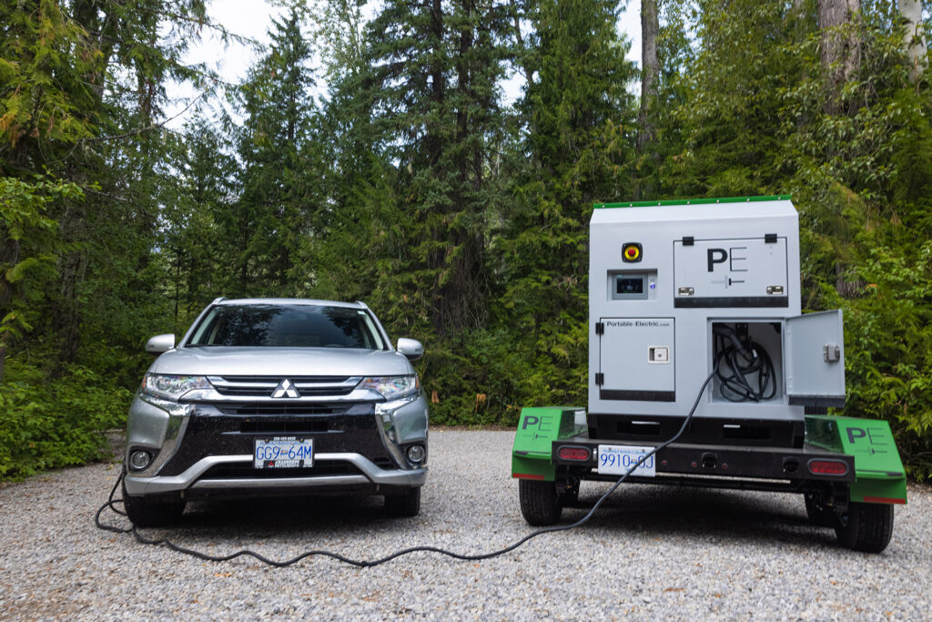VOLTstack Mobile EV Charger in East Kootenays