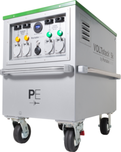 VOLTstack Portable Power Stations Clean Energy Silent Generators Solar Power Wind Hydro Recharge Gas Generator Replacement Fast Charge Quiet Generator Fuel Free and No Noise Noiseless Emissions-Free Fast-charge Mobile Microgrid Micro Grid Micro-grid